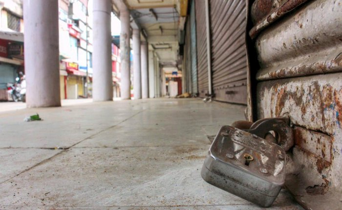 Shops and commercial establishments downed shutters across Kerala. (PTI File Pic for representation only)