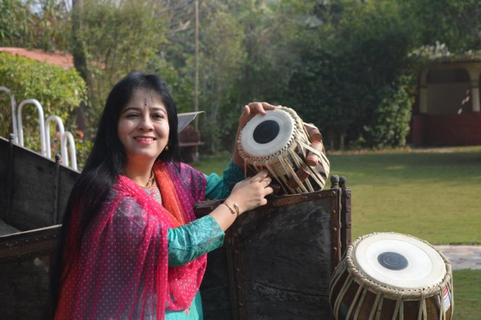 Anuradha Pal started playing when she was just 10.