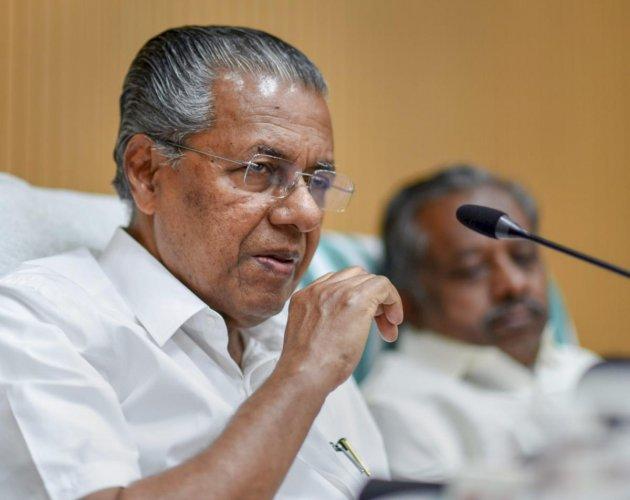 Pinarayi Vijayan rejected the UDF charge that the amendment would favour realtors. PTI file photo