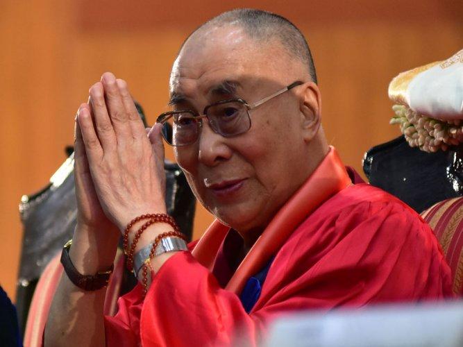 Dalai Lama. File photo