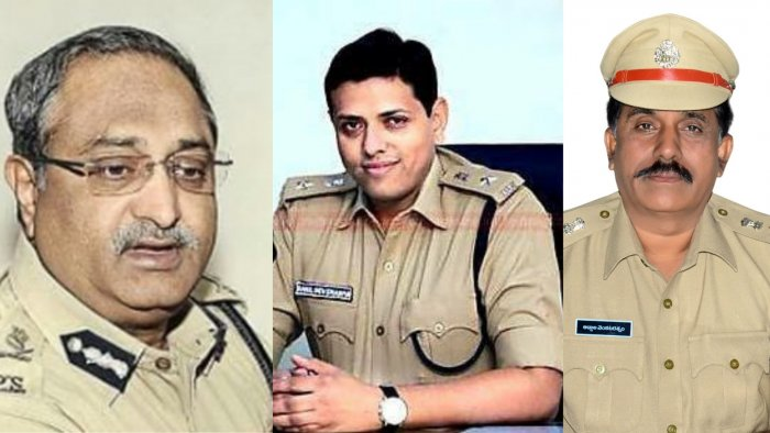 The EC ordered the transfer of Director General (Intelligence) AB Venkateswara Rao, Kadapa Superintendent of Police Rahul Dev Sharma and Srikakulam SP Venkata Raman with immediate effect.