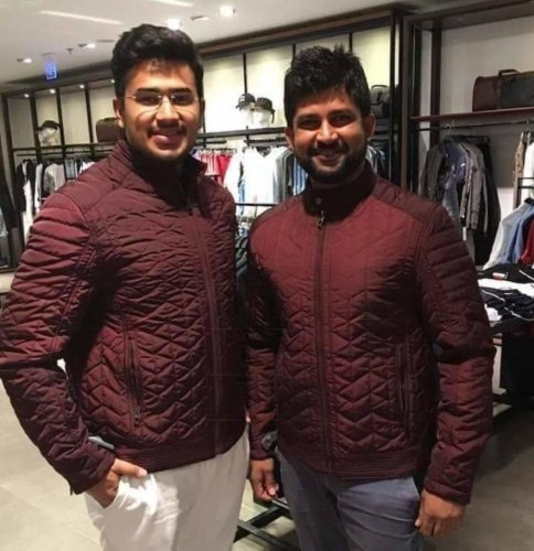 It was Prathap Simha (right) in 2014, it is Tejasvi Surya now. The BJP caught both of them young.