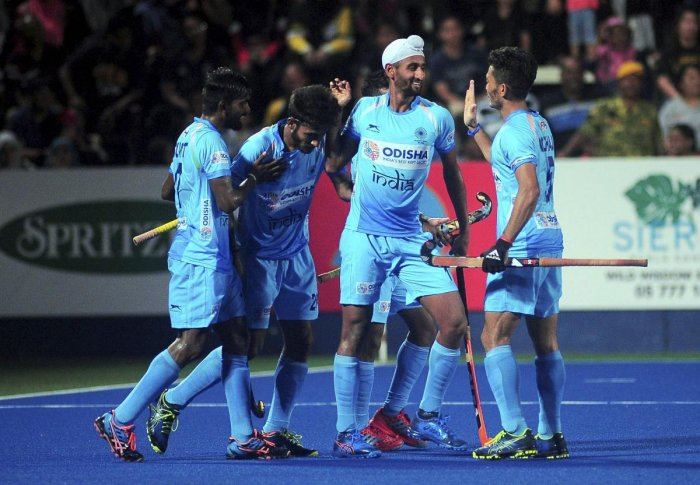 At the half time, India were 4-0 up in the match before Canada reduced the margin through a strike from Mark Pearson in the 35th minute. (PTI File Photo)