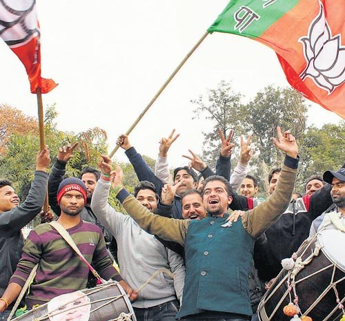 BJP fares well in  Rajasthan civic polls