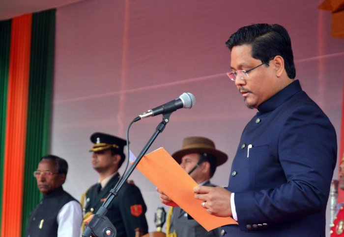 National People's Party (NPP) President Conrad K Sangma. (PTI file photo)