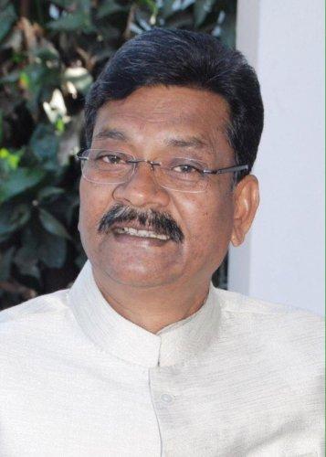 Chhattisgarh Congress leader Charan Das Mahant.