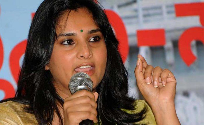 Congress social media chief Divya Spandana (Ramya) on Thursday shot off a letter to the Election Commission accusing the BJP of bribing voters by offering them free gifts in exchange of votes for Prime Minister Narendra Modi.
