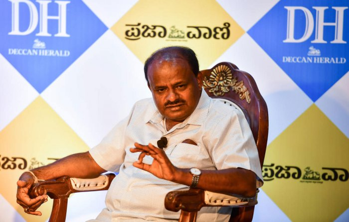 During his interaction with DH, Kumaraswamy refuted the oft-cited concern that an elevated corridor network would only end up increasing the number of cars, defeating the project's objective of decongesting the city. DH photo
