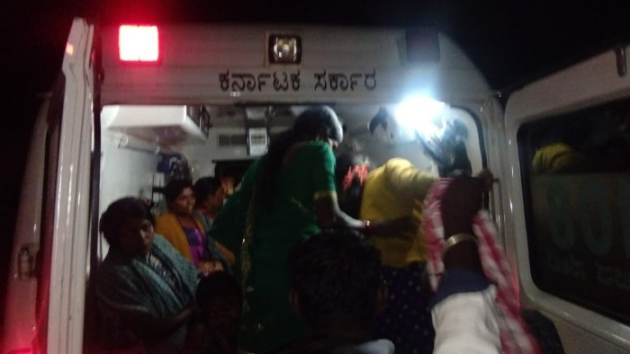 More than 40 people have taken ill after consuming food at a wedding function at Bherya village in KR Nagar taluk in Mysuru on Sunday night. DH photo