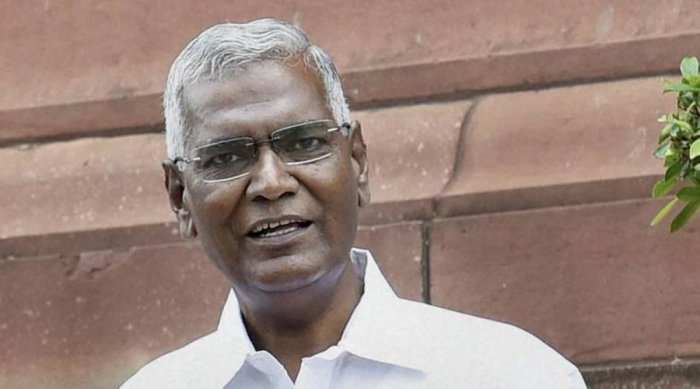 Any Kerala leader can contest against the Left but fielding Rahul Gandhi from Wayanad does not send a correct political message across the country, said CPI National Secretary D Raja. (PTI File Photo)
