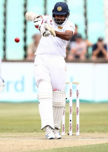Dimuth Karunaratne recently led Sri Lanka to a 2-0 Test series win against South Africa. AFP File Photo