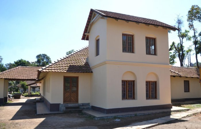 General K S Thimmayya's house 'Sunny Side' being converted into General K S Thimmayya Memorial Museum in Madikeri.