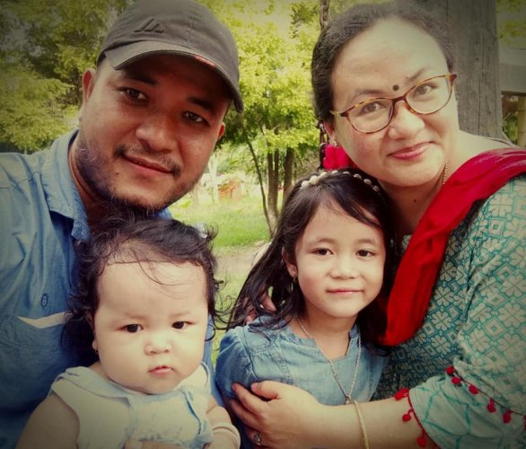 Ranjita has been fighting against the detention of her husband, who has been detained for 12 months under the National Security Act (NSA) for a Facebook post criticising the BJP-led Manipur government and Chief Minister N Biren Singh.