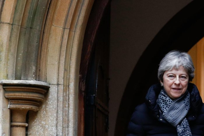 Britain's Prime Minister Theresa. AFP File photo