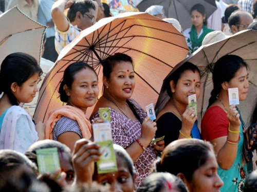 70.6 per cent voting recorded in Assam