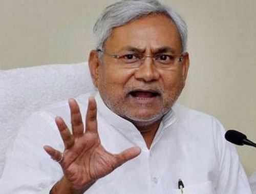 Nitish launches high-tech 'Badh Chala Bihar' ahead of assembly polls