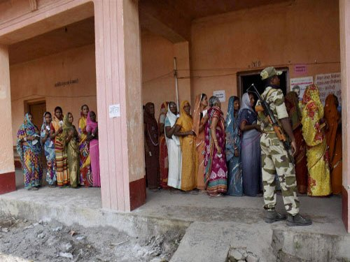 Amid boycott, Bihar sees 57% voting in first phase