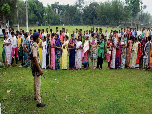 61 assembly constituencies in Assam, 31 in WB go to polls tomorrow