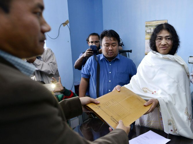 Sharmila vs Ibobi Singh in phase-II of Manipur polls tomorrow