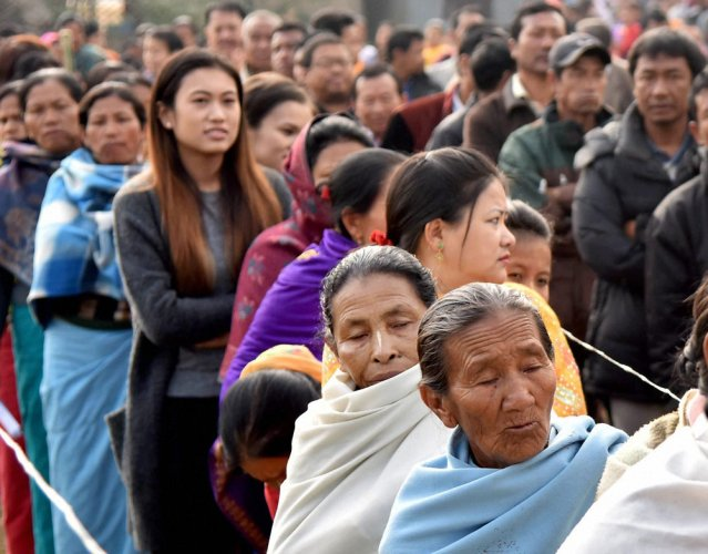 Record 86 pc turnout in last phase of Manipur polls