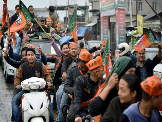 BJP well-placed to form next Manipur government