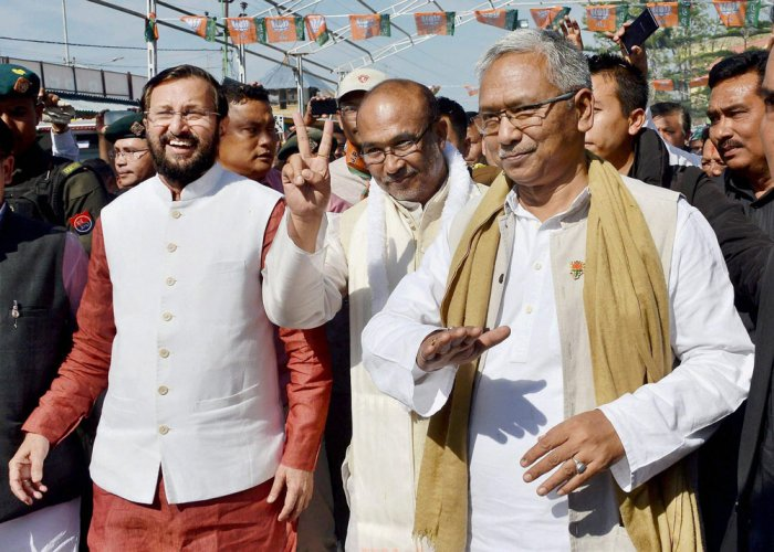 BJP-led government wins trust vote in Manipur