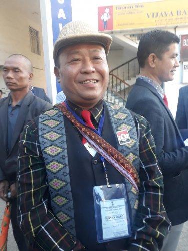 Vanlalruata, president of NGO Co-ordination Committee, Mizoram. DH Photo/ Puia Changgte.