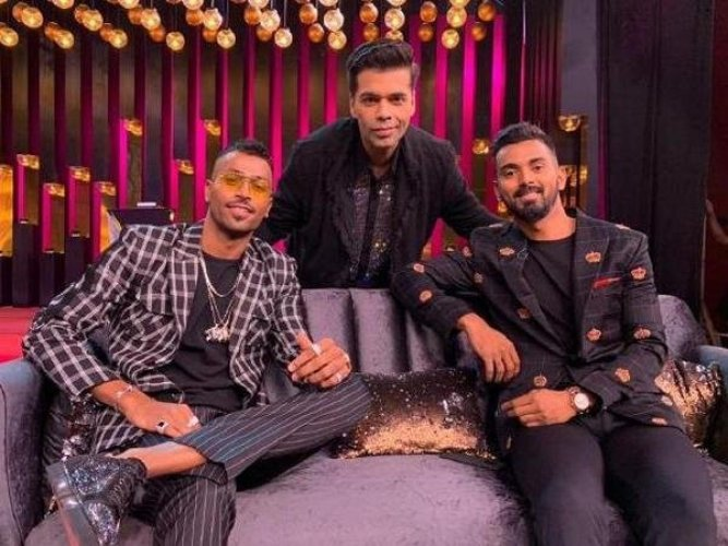 """Pandya and Rahul were provisionally suspended by the Committee of Administrators (COA) for their loose talk on chat show """"Koffee With Karan"""" before the ban was lifted pending an inquiry by the Ombudsman. File photo"""