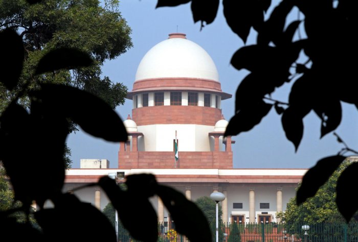 A bench of Justices N V Ramana and Mohan M Shantanagoudar accepted a suggestion made by advocate Amit Sharma on behalf of the Election Commission. (Reuters File Photo)