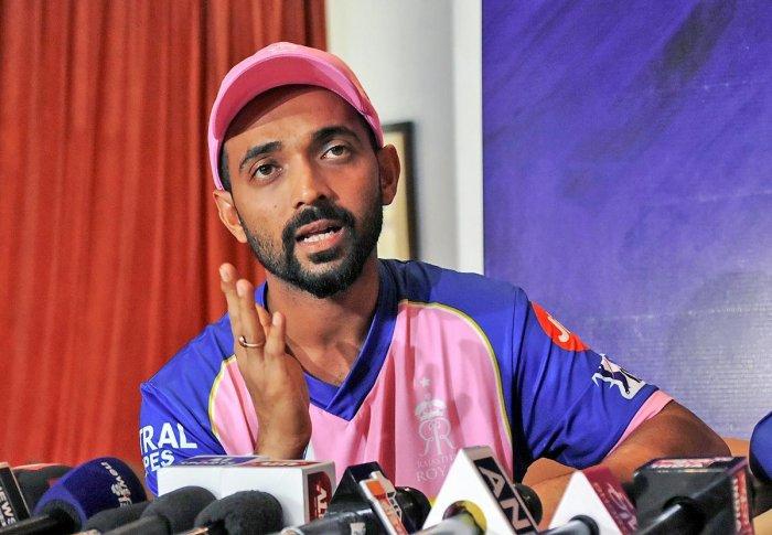 Rajasthan Royals captain Ajinkya Rahane. (PTI Photo)