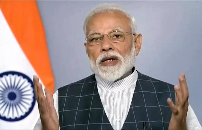 The Centre is trying its best to implement the Assam Accord that was suspended by the Congress, Modi said. PTI File photo