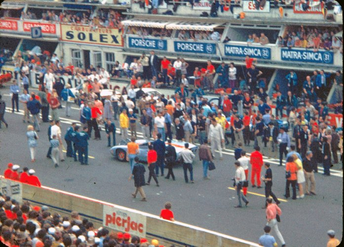 A picture of the movie Le Mans being shot. Picture credit: commons.wikimedia.org/ Marc Le Beller