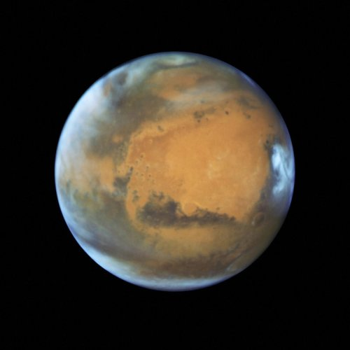 Researchers at the University of Southern California (USC) in the US determined that groundwater likely exists in a broader geographical area than just the poles of Mars. AP/PTI File photo