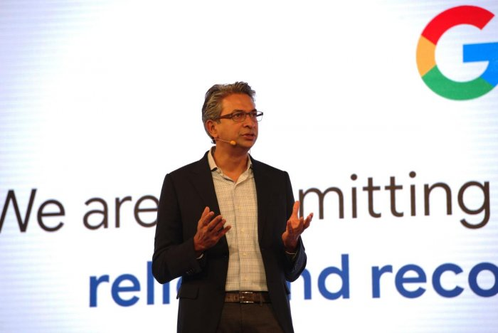 South East Asia and India Vice-President Rajan Anandan. File photo