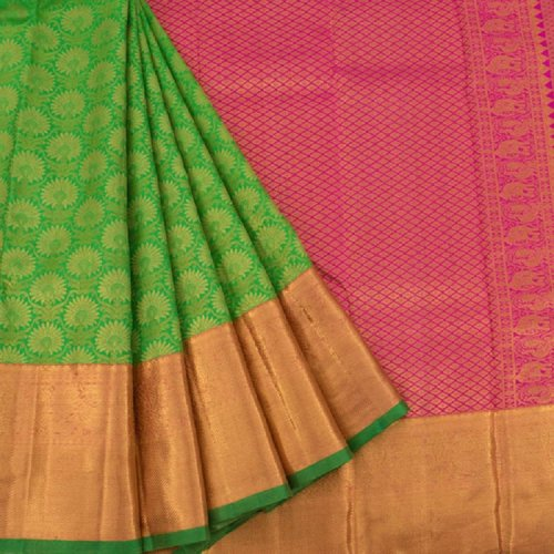 Silk saris do not need to be washed frequently but they could be dry-cleaned after four to five times of use.