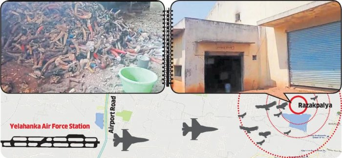 The IAF has already approached the jurisdictional police to sanitise an area of about 10 km around the airbase.