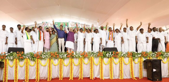The BJP is playing both the caste and religious cards to tilt the votes of Hindus in its favour – the party and its nominee have been openly saying that Kanimozhi isn't a Nadar since only her mother, Rajathi, belongs to the community. The saffron party is heavily banking on alliance partners AIADMK and Puthiya Tamizhagam which has influence in pockets.