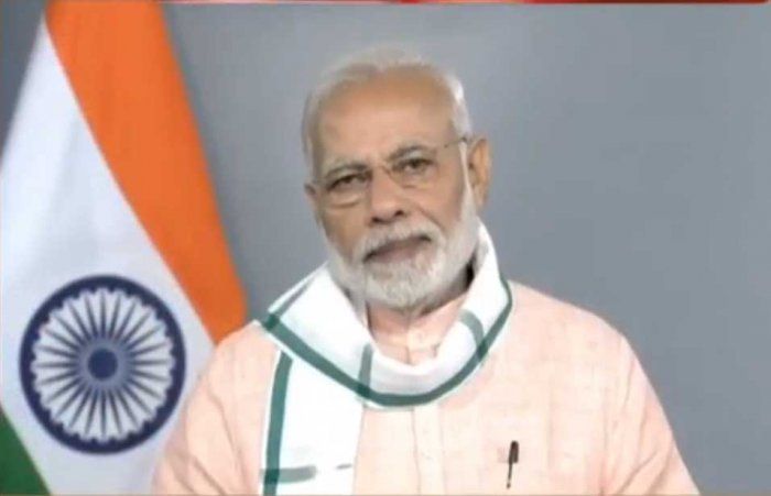 The channel launched on March 3 has Prime Minister Narendra Modi's photograph on its logo and runs all his speeches.