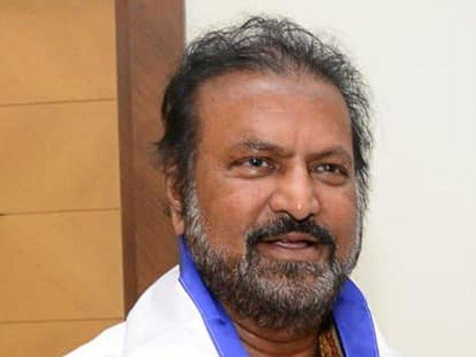Telugu actor-producer M Mohan Babu. (Image courtesy Twitter)