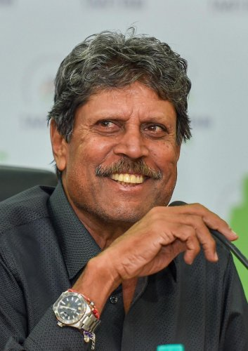 Kapil Dev. PTI File photo