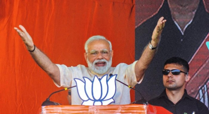 Prime Minister Narendra Modi on Monday criticised the Congress for coining the term 'Hindu terror', prompting a sharp reaction from the main opposition party. (PTI File Photo)