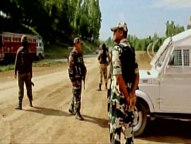 Union Home Minister Rajnath Singh during his visit to Srinagar on February 15 had sought people's cooperation in halting movement of civilian vehicles while the forces' convoys move along the highways. ANI file photo