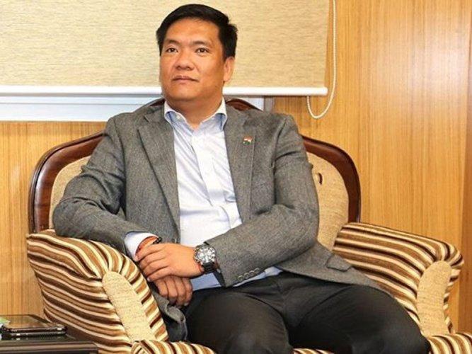 Arunachal Pradesh Chief Minister Pema Khandu. (Image courtesy Twitter)