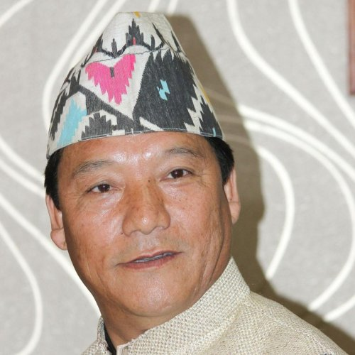 "Gurung, one time close aide of late GNLF chief Subash Ghising, said the coming election is a fight between the West Bengal government's ""dictatorship"" and the will of the people to stand up against it. File photo"