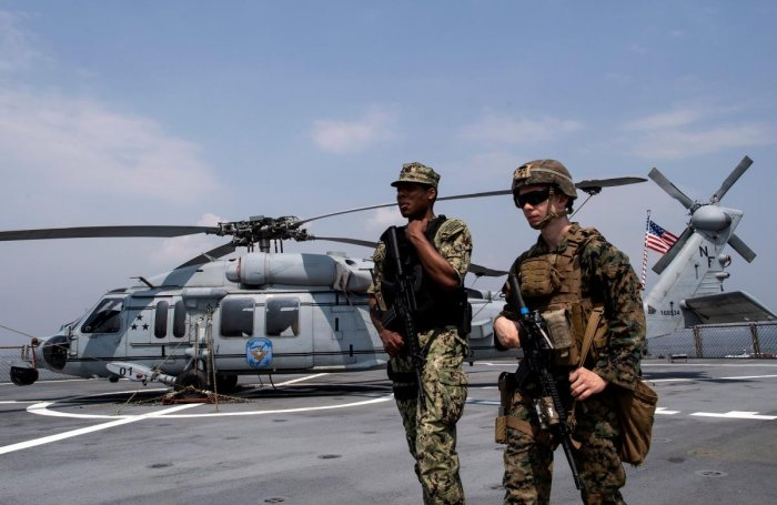 The US has approved the sale of 24 multi-role MH-60 'Romeo' Seahawk helicopters to India at an estimated cost of USD2.4 billion, the State Department has said. AFP file photo