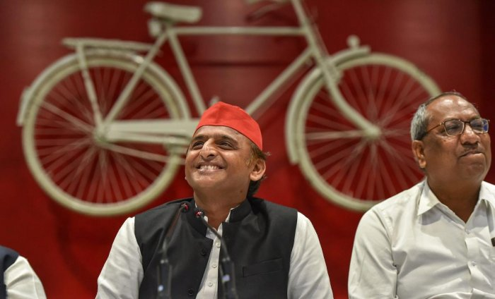 Samajwadi Party (SP) President Akhilesh Yadav. (PTI File Photo)
