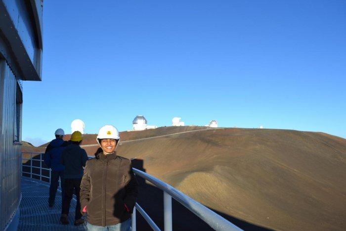 Anupreeta More at Subaru telescope