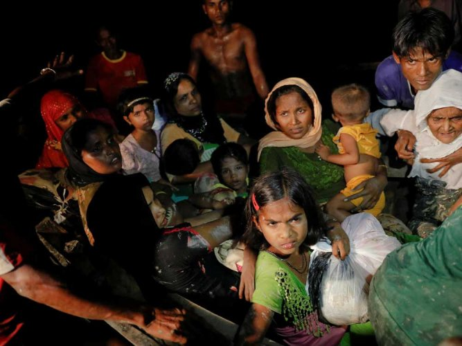 The Government has dismissed a recent statement by five United Nations human rights experts condemning deportation of three more Rohingyas from India to Myanmar last week. Reuters file photo