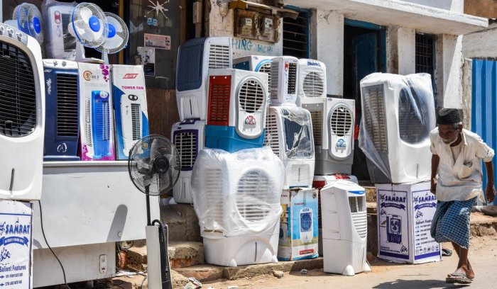 Power consumption is set to rise in the coming days as usage of air-conditioners and coolers peaks . dh file photo
