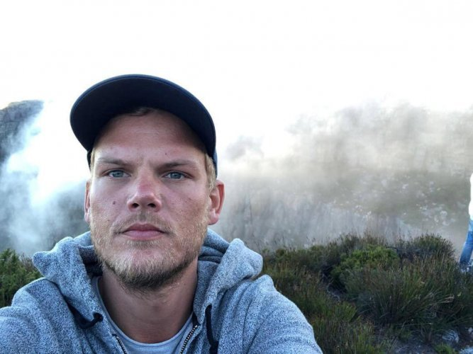 Swedish musician, DJ, remixer and record producer Avicii (Tim Bergling) takes a selfie on Table Mountain, South Africa in this picture obtained from social media January 11, 2018. Photo via Instagram.